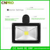 Calle y Wall sensor de iluminación de techo del sensor de movimiento PIR 50W Luz de inundación del LED