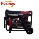 6kw 디젤 엔진 발전기 세트 휴대용 가정 사용 발전기 (FD8500CE)