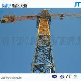 Kraan van de Toren van de Kraanbalk Ktp5510 van de Verkoop van China de Beste Hydraulische Maximum 6t Topless voor de Machines van de Bouw