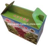 Bewegliche Cmyk Farben-Drucken-Frucht schachtelt gewölbten Karton