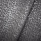 Krokodil-Haut-Muster, Matt-Oberflächenchemiefasergewebe PU-Leder, Beutel-Leder
