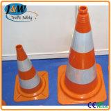 75 centímetros PVC Cone do tráfego com Base de Borracha