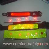 Maglia riflettente di sicurezza del bracciale di sicurezza