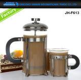 Verre de promotion d'une cafetière bouilloire pour café
