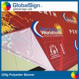 Bannière en polyester pleine qualité