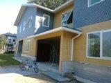 Decorativo exterior con aislamiento de metal repujado
