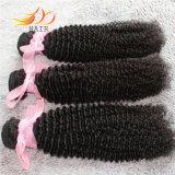 Trame crespe di vendita calde dei capelli dell'arricciatura dei capelli Burmese del Virgin del grado 8A