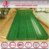 Feuille ondulée enduite de toit de couleur principale de qualité