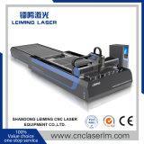 máquina de estaca do laser da fibra da tabela da canela de 2000W Lm3015A3 para a venda