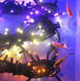 IP68 고무 케이블 LED 끈 빛 크리스마스 불빛