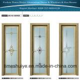 Aluminiumlegierung-eingehängte Türen mit Edelstahl-Zubehör