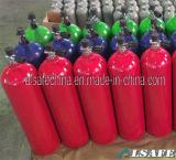 専門アルミニウム80CFスキューバタンク圧力