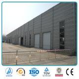 Constructeur préfabriqué de construction d'entrepôt de structure préfabriquée de bâti en acier de coût bas