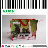 Bolso de compras no tejido modificado para requisitos particulares del supermercado de los PP
