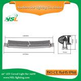 Bester des Preis-42 gebogener LED Stab des Zoll-240W heller Stab nicht für den Straßenverkehr CREE des Licht-LED