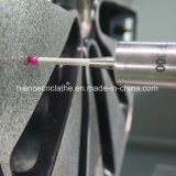 Máquina estupenda de la precisión del fabricante de la aleación de la rueda de la reparación del torno profesional del CNC
