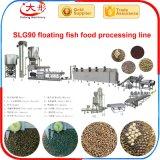 Aliments pour poissons Poissons flottant d'équipement de l'extrudeuse Ligne de traitement d'alimentation
