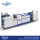 Máquina de capa automática de Msuv-650A pequeña para el papel