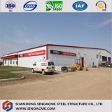 Stahlhandelsgebäude für Nacjbarschaftsladen mit Lager