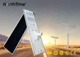 Luminosità chiara esterna Bridgelux LED 6W -120W del comitato solare alta