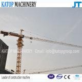 Ausgezeichneter niedriger Turmkran des Preis-Tc5013 vorbildlicher der Eingabe-6t für Aufbau-Maschinerie