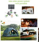 Carregador elétrico Lâmpada solar portátil 15 Watt Painel solar Iluminação solar