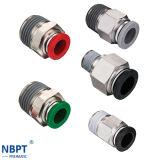 Acessórios de latão para conexão rápida de tubos