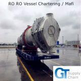 Vaso profesional del transbordo rodado que carga el envío de Qingdao/de Tianjin a Cotonou, Benin