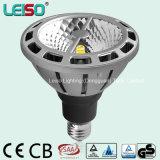 유일한 3D 옥수수 속 100W 보충 LED PAR38 램프 (LS-P720-BWW/BW)