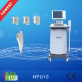 Sistema do ultra-som da freqüência da intensidade elevada do rejuvenescimento da pele de Hifu