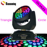 Eclairage pour DJ 36X10W Triangle Zoom Wash Light LED Moving Head