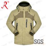 Impermeável e respirável jaqueta de esqui no Inverno (QF-6028)