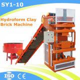 Глина Block Machine Price Soil Interlocking Brick Machinery для России (SY1-10)