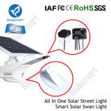 Todos en un solar de la calle Luz con el interruptor del sensor de movimiento
