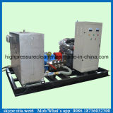 pulitore industriale ad alta pressione del getto di acqua del pulitore di tubo 1000bar idro