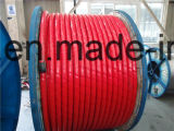 12.7/22 (24) quilovolts 185 quadrado. milímetro Single Core XLPE Insulated Aluminium Wire Armored Power Cable BS-6622 IEC-60502