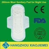 260mm Maxi gesundheitliche Serviette für Tagesgebrauch