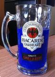 A caneca de cerveja de vidro do grande tamanho da boa qualidade para Diariamente-Usa-se com logotipo personalizado Sdy-F06268
