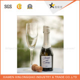 Autoadesivo su ordinazione della bottiglia di vino del contrassegno di stampa di marchio su ordinazione del vino