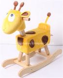 Nuevo diseño de alimentación de la fábrica de animales de balanceo de balancín de ciervo -