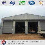 Edificio per uffici prefabbricato del blocco per grafici del metallo con il workshop