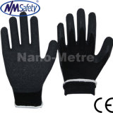 Gants de travail de sécurité d'hiver pour revêtement en latex pour garnitures isolantes Nmsafety