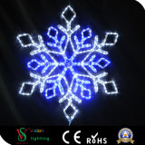 第2クリスマス屋外LEDの雪片ライト