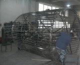 Máquina espiral do congelador do congelador IQF da explosão do alimento de mar