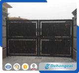 Seguridad decorativas residencial duradero Puerta de hierro forjado.