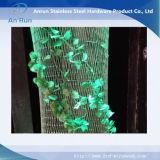 Rete metallica della decorazione interna, maglia architettonica dell'acciaio inossidabile