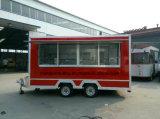 2017 uso della macchina della cucina, 900 chilogrammi dell'alimento del carrello di disegno mobile del rimorchio
