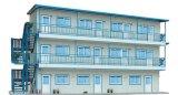 Het hoogstaande en Lage Geprefabriceerd huis van de Laag voor Arbeid, School, en het Ziekenhuis