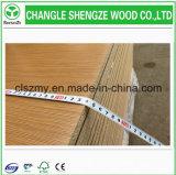 Tablero de madera aglomerada de la melamina de la fábrica 1220*2440m m