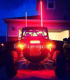 12V RGB Whips LED Light com Fibra óptica Pole Atu UTV Trucks Yellow White LED Antena Whip Sand Car